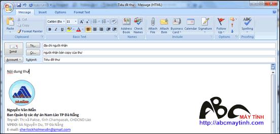 Những thủ thuật cho Microsoft Office Outlook 2007 (Phần 2)