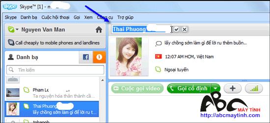 "5 ""chiêu"" hay cho Skype"