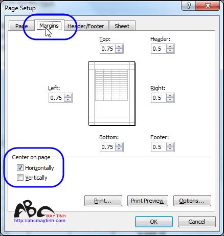 Thủ thuật Excel 2010: In lặp lại tiêu đề ở từng trang