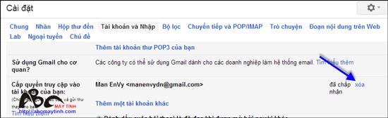 Cấp quyền truy cập vào Gmail mà không cần mật khẩu
