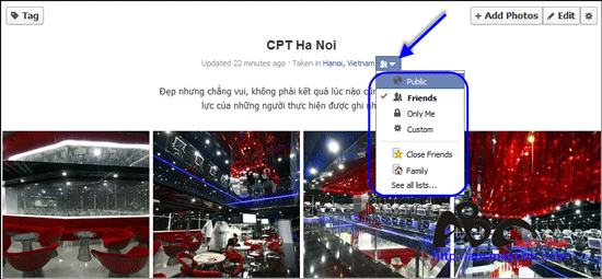 Làm chủ hình ảnh trong Facebook